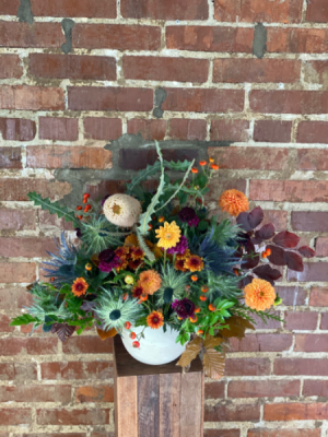 Lush Fall Centerpiece  in Nashville, TN | BLOOM FLOWERS & GIFTS
