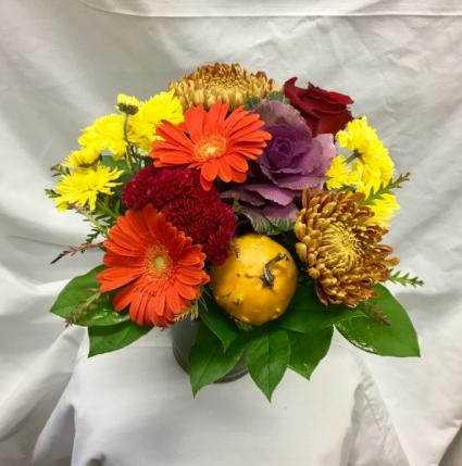 Lush Fall Fresh Floral Design.