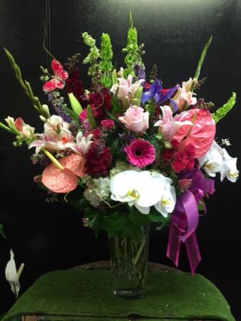 Lush floral mix bouquet