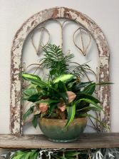 Lush Ceramic Garden