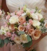 Lush Garden  Bridal Bouquet
