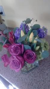 lush lavender bouquet Pave