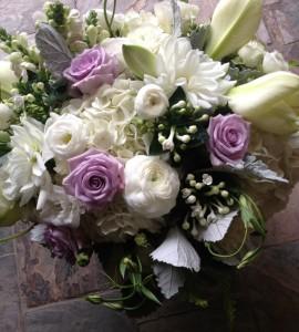 Luxe Lavender Vase Arrangement