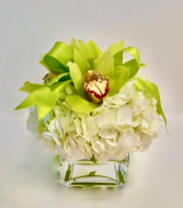 Lush & Lime Flower Arrangement