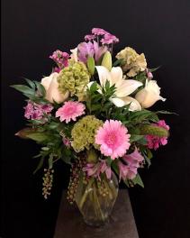 Lush Romance  Vase