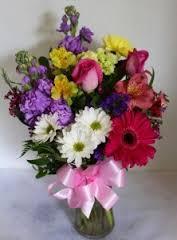 Lush Summery Vase