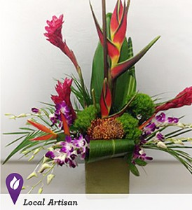 Lush Tropical Garden Orchids, Ginger, and More! in Gainesville, FL | PRANGE'S FLORIST