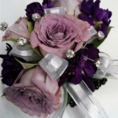 Lushly Lavender Purple Wrist Corsage