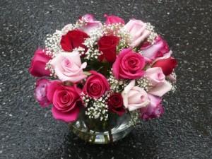 Lushious Roses Garden Bouquet Design in Mechanicsburg, PA | Garden Bouquet