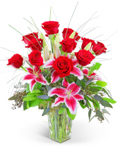 Luxe Dozen Flower Arrangement