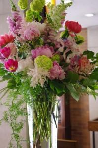 Luxe Garden Vase Arrangement