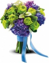 Luxe Lavender And Green Bouquet T182-2A