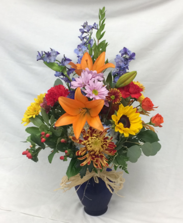 Luxurious Fall Vase