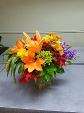 Luxurious Fall Vase arrangement