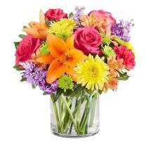 Luxurious Floral Vase