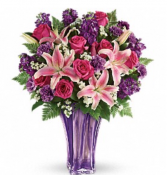 Luxurious Lav Bouquet Anniversary Flowers
