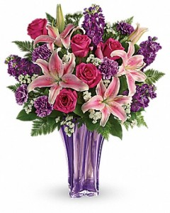 Luxurious Lavender Bouquet  in Canon City, CO | TOUCH OF LOVE FLORIST AND WEDDINGS