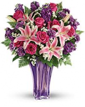 Luxurious Lavender Bouquet Mother's Day Arrangement