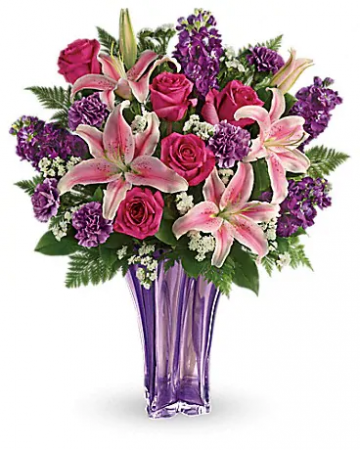 Luxurious Lavender flower arrangement