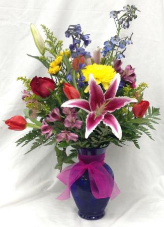 Luxurious Mixed Vase