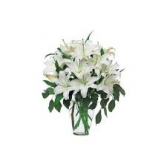 Luxury Lilies vase arrangement