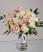 Luxury Pastel Rose Bouquet V21-827 Flower Arrangement Bouquet