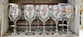 Wine Glass, Seahorse design Special Products