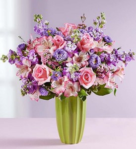 M Fresh Country Bouquet In Art Deco Style Vase In Gainesville Fl Prange S Florist