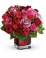 Madly in Love with Red Roses Bouquet
