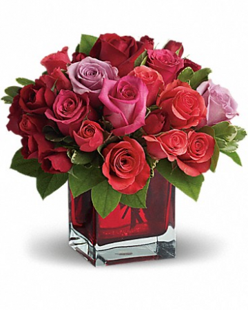 Madly in Love Bouquet with Red Roses by Teleflora Floral arrangement