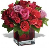Madly in Love with YOU! Fresh Rose Arrangement