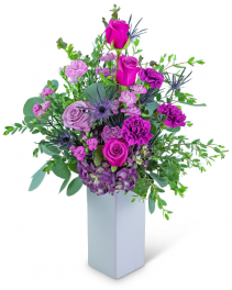 Magenta Magic Flower Arrangement