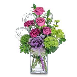 Magenta Sky Arrangement in Fort Smith, AR   EXPRESSIONS FLOWERS, LLC