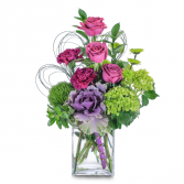 The Mentor Magenta Sky Arrangement