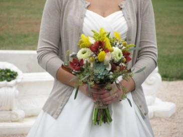 Maggie's Textured Autumn Bride's Bouquet Abloom Original