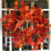 Magic Maple Silk Floral Wreath