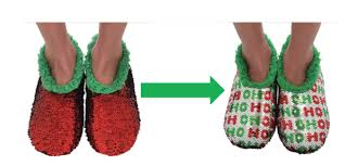 Magic Sequin Slippers