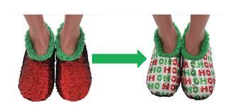 Magic Sequin Slippers