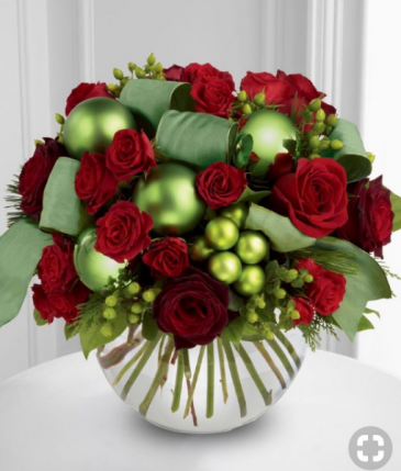 MAGICAL CHRISTMAS FLOWER DESING ELEGANT AND MIXTURE FLOWERS