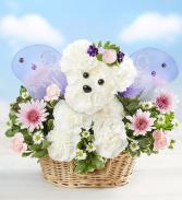 Magical Fairy Dog Floral Arrangement