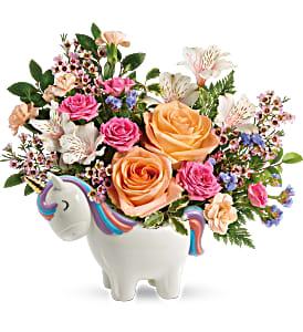 Magical Garden Unicorn Bouquet Teleflora