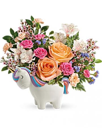Magical Garden Unicorn centerpiece collectable