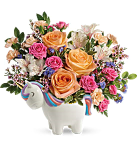Magical Garden Unicorn New Baby / All Occasions in Las Vegas, NV | All In Bloom