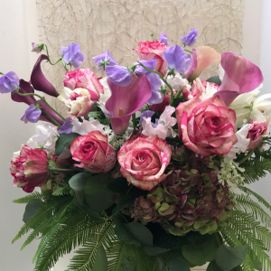 Magical Times Vase in Northport, NY | Hengstenberg's Florist