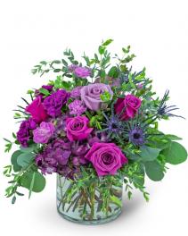 Magnificent Magenta Flower Arrangement