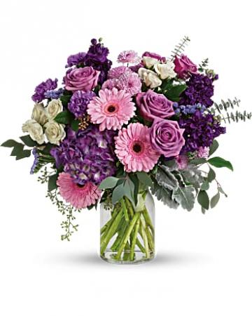 Magnificent Mauves Bouquet Bouquet
