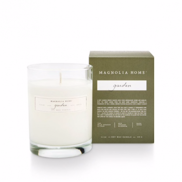 Magnolia Home by Joanna Gaines Garden Boxed Glass Candle