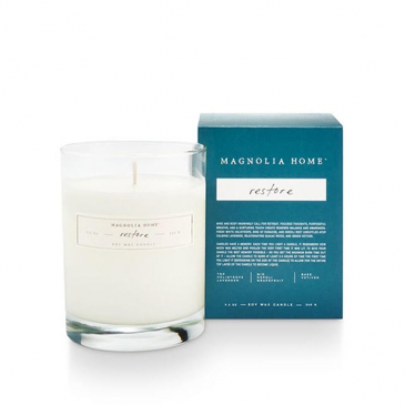 Magnolia Home by Joanna Gaines Restore Boxed Glass Candle