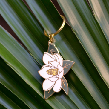 Magnolia Key Chain Gifts