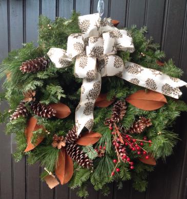 Magnolia Merry Wreath Wreath